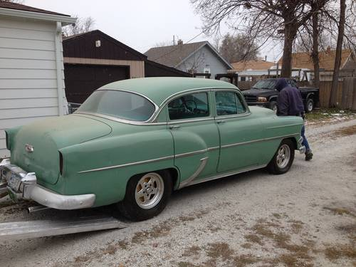 1954 Chevrolet Deluxe 4DR Sedan For Sale (picture 6 of 6)