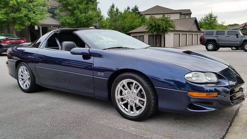 2002 Chevrolet Camaro SS SLP Coupe For Sale (picture 1 of 6)