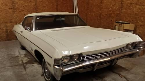 1968 Chevrolet Impala Convertible For Sale (picture 1 of 6)
