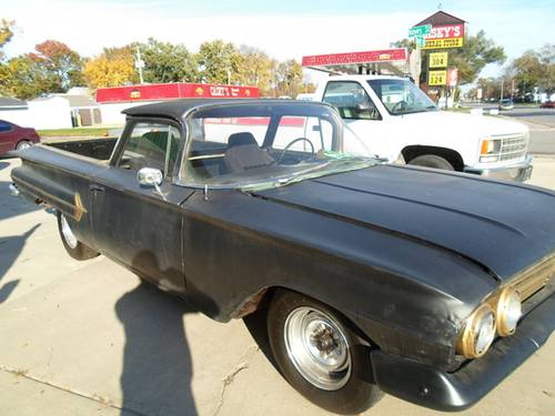 1960 Chevrolet El Camino Pickup For Sale (picture 1 of 6)