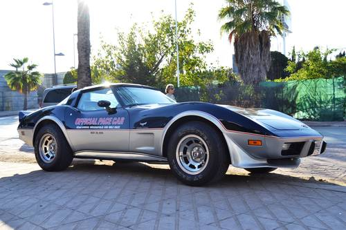 1978 Chevrolet Corvette C3 25th Anniversary Pace Car For Sale (picture 1 of 6)