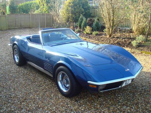 1971 CLASSIC CAR HIRE - Corvette Stingray (Conv) - Self Drive  For Hire (picture 1 of 6)