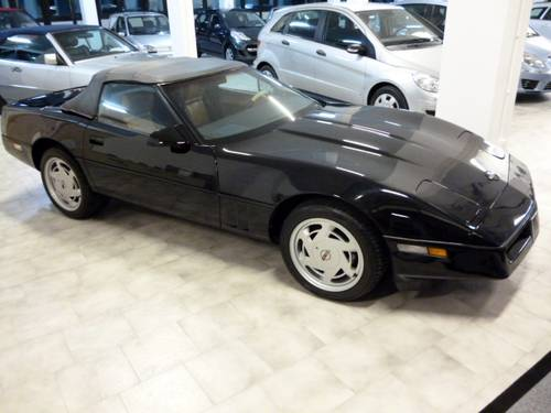1989 Chev Corvette Convertible Imported into the EU from Canada For Sale (picture 1 of 6)