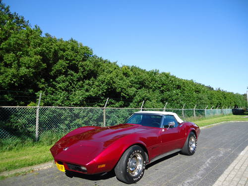 Chevrolet Corvette convertible 1974 real beauty! For Sale (picture 1 of 6)