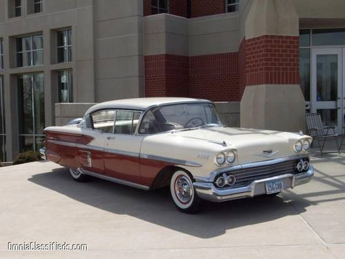 1958 Chevrolet Bel Air 2DR HT For Sale (picture 1 of 5)