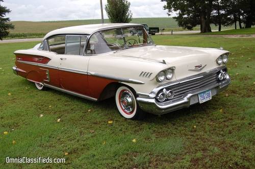 1958 Chevrolet Bel Air 2DR HT For Sale (picture 2 of 5)