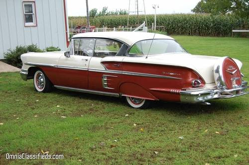1958 Chevrolet Bel Air 2DR HT For Sale (picture 3 of 5)