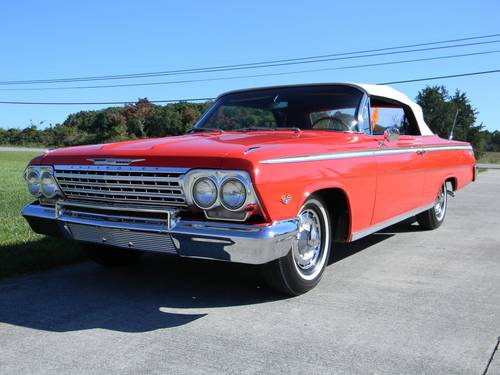 1962 Chevy Impala SS Convertible For Sale (picture 1 of 6)