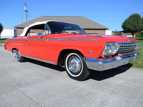 1962 Chevy Impala SS Convertible For Sale (picture 2 of 6)