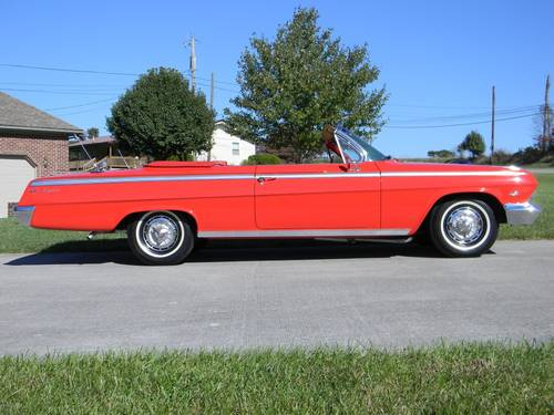 1962 Chevy Impala SS Convertible For Sale (picture 3 of 6)