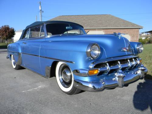 1954 Chevy Bel Air Convertible For Sale (picture 2 of 6)