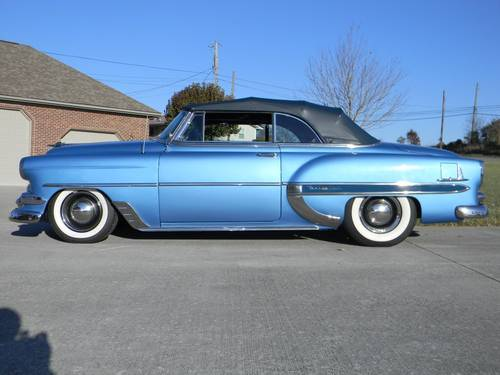 1954 Chevy Bel Air Convertible For Sale (picture 3 of 6)
