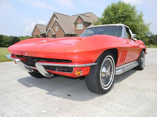 1965 Chevy Corvette Stingray Convertible For Sale (picture 2 of 6)