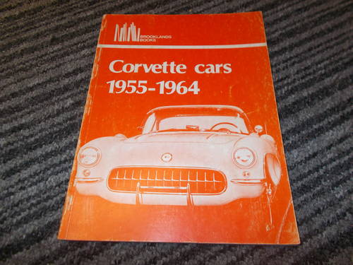 0000 corvette 1955-1964 reference book SOLD (picture 1 of 2)