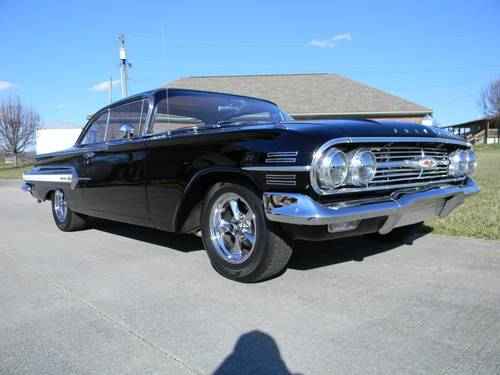1960 Chevy Impala 2 Door Hardtop Sport Coupe For Sale (picture 2 of 6)