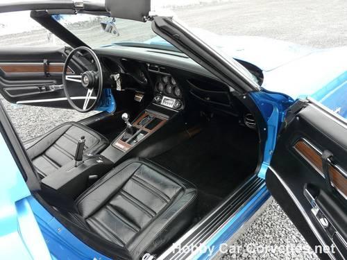 1973 Blue Big Block Hot Rod Corvette 4spd For Sale (picture 3 of 6)