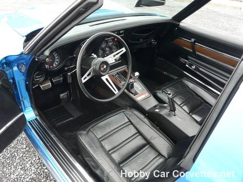 1973 Blue Big Block Hot Rod Corvette 4spd For Sale (picture 4 of 6)