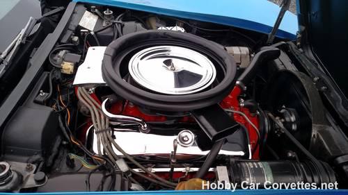 1973 Blue Big Block Hot Rod Corvette 4spd For Sale (picture 5 of 6)
