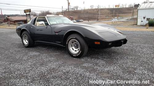 1979 Black Corvette Oyster Int 4spd Hot Rod For Sale (picture 6 of 6)