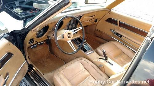 1974 Black Corvette 4spd Tan Int Fun Driver For Sale (picture 5 of 6)