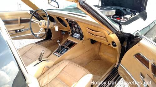 1974 Black Corvette 4spd Tan Int Fun Driver For Sale (picture 6 of 6)