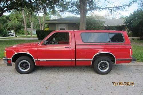 1991 Chevrolet S10 Fleetside Pickup For Sale (picture 1 of 6)