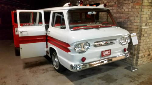 1960 1962 Chevrolet Corvair Greenbrier Sportswagon Ambulance ACC For Sale (picture 1 of 6)