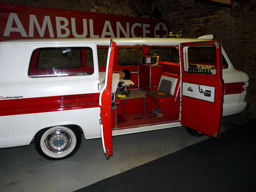 1960 1962 Chevrolet Corvair Greenbrier Sportswagon Ambulance ACC For Sale (picture 2 of 6)