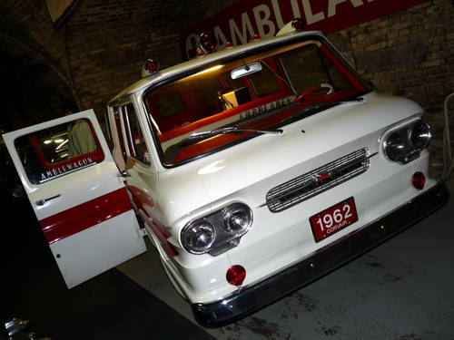 1960 1962 Chevrolet Corvair Greenbrier Sportswagon Ambulance ACC For Sale (picture 5 of 6)