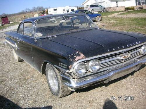 1960 Chevrolet Impala 2DR HT For Sale (picture 1 of 6)