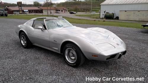 1976 Silver Corvette Stingray 37K Miles For Sale (picture 5 of 6)