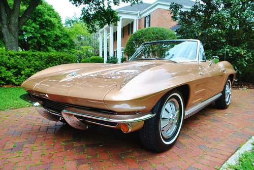 1964 64' Chevy Corvette Convertible #'s Match 327/365HP For Sale (picture 1 of 6)
