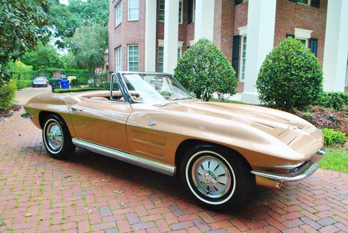 1964 64' Chevy Corvette Convertible #'s Match 327/365HP For Sale (picture 6 of 6)