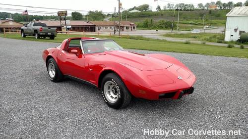 1978 Red Red Corvette L82 4sd Nice Driver For Sale (picture 1 of 6)