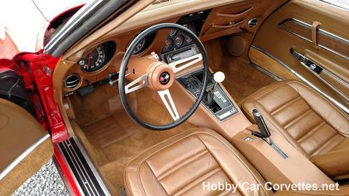 1973 Red L82 4spd Corvette Hot Rod For Sale (picture 5 of 6)