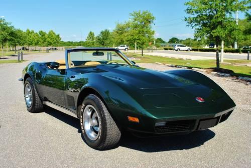 1973 Chevrolet Corvette Convertible 17,089 Actual Miles! For Sale (picture 1 of 6)