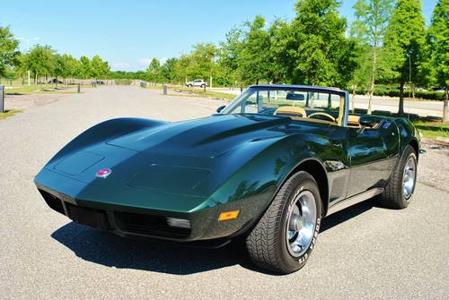 1973 Chevrolet Corvette Convertible 17,089 Actual Miles! For Sale (picture 2 of 6)