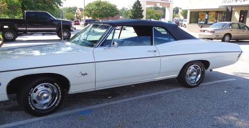 1968 Chevrolet Impala Convertible For Sale (picture 1 of 5)