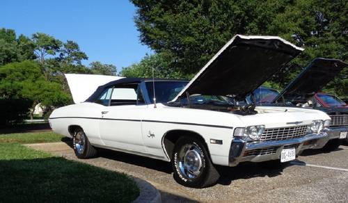 1968 Chevrolet Impala Convertible For Sale (picture 2 of 5)