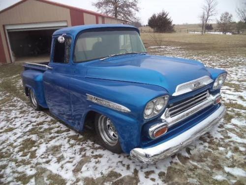 1959 Chevrolet Apache SWB Pickup For Sale (picture 2 of 6)