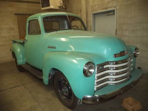 1951 Chevrolet Deluxe 3100 Pickup For Sale (picture 1 of 1)
