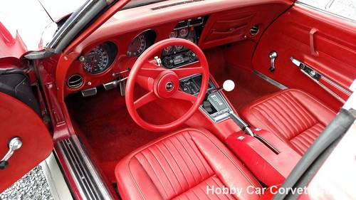1969 Dark Red Corvette Red Int 4spd  For Sale (picture 3 of 6)