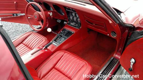 1969 Dark Red Corvette Red Int 4spd  For Sale (picture 4 of 6)