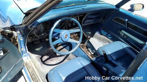1977 Blue Blue Corvette 4spd 68K miles For Sale (picture 4 of 6)