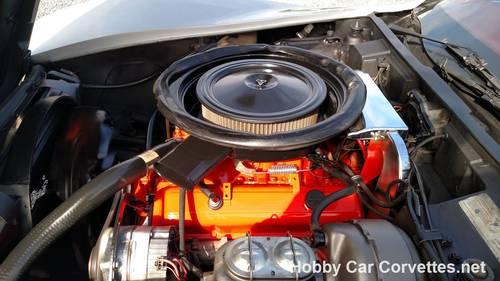 1975 Silver Corvette Dark Red Int  For Sale (picture 6 of 6)