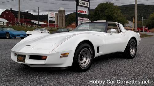 1980 White White Corvette 4spd For Sale For Sale (picture 1 of 6)