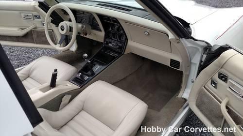 1980 White White Corvette 4spd For Sale For Sale (picture 4 of 6)