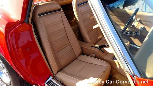 1975 Red Corvette Tan 4spd Nice Hot Rod For Sale (picture 6 of 6)