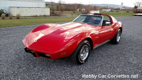 1975 Red Corvette Black Int Nice Driver For Sale (picture 6 of 6)