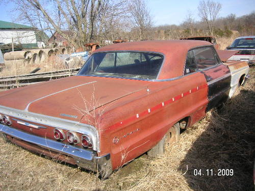 1964 Chevrolet Impala SS 2DR HT For Sale (picture 1 of 5)